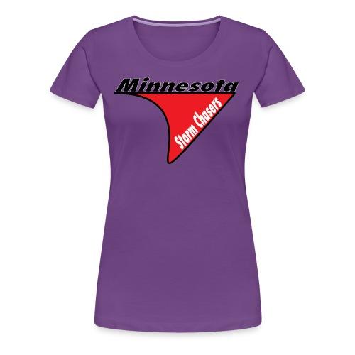 Womens Chasing Shirt (Logo) - Women's Premium T-Shirt