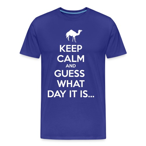 Hump Day Camel - Men's Premium T-Shirt