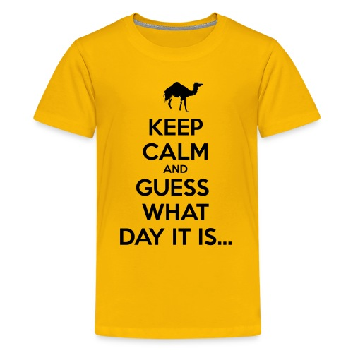 Hump Day Camel - Kids' Premium T-Shirt