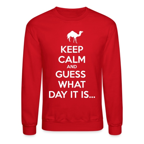 Hump Day Camel - Crewneck Sweatshirt