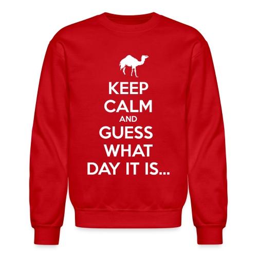 Hump Day Camel - Crewneck Sweatshirt