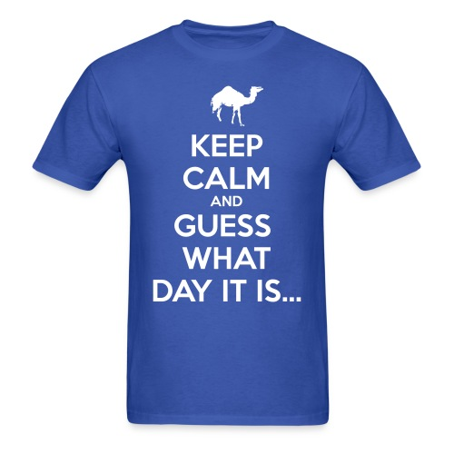 Hump Day Camel - Men's T-Shirt