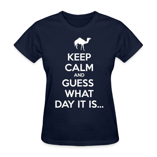 Hump Day Camel - Women's T-Shirt