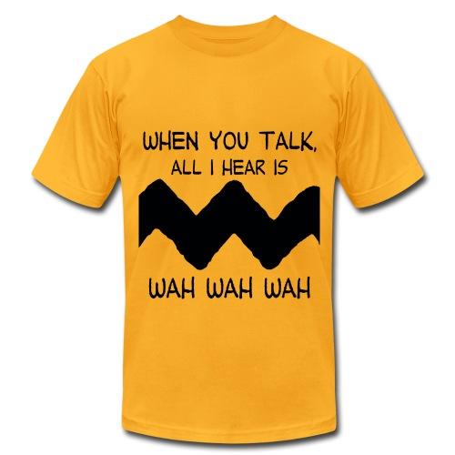 wah wah wah - Men's Fine Jersey T-Shirt