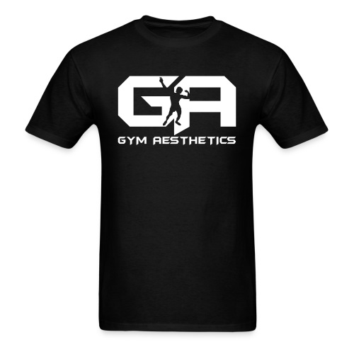 Gym Aesthetics WHT - Men's T-Shirt