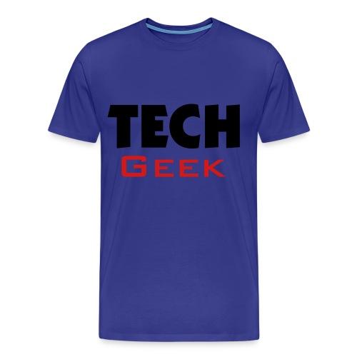 TechExpress77 Tech Geek t-shirt  - Men's Premium T-Shirt