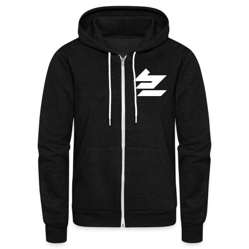 Zip em up! - Unisex Fleece Zip Hoodie by American Apparel