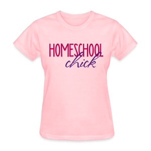 Homeschool Chick - Women's T-Shirt