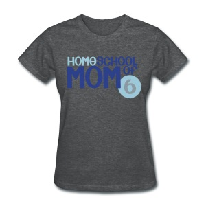 Mom of 6 - Women's T-Shirt