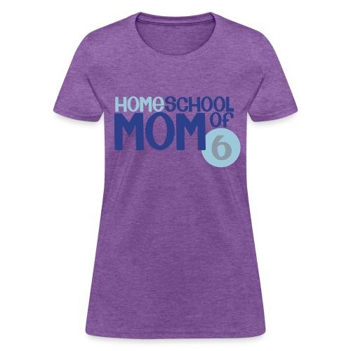 Mom of 6 - Women's T-Shirt