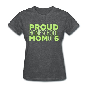 Proud Mom of 6 - Women's T-Shirt