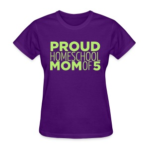 Proud Mom of 5 - Women's T-Shirt