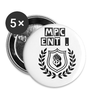 Mpc Ent . Logo Small Hat Button  - Small Buttons