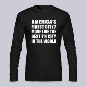 Best F'n City - Men's Long Sleeve T-Shirt by Next Level