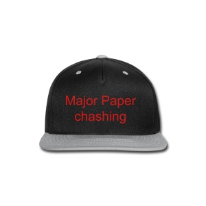 Mpc Ent . Major Paper Chashing Snap Back Hat  - Snap-back Baseball Cap
