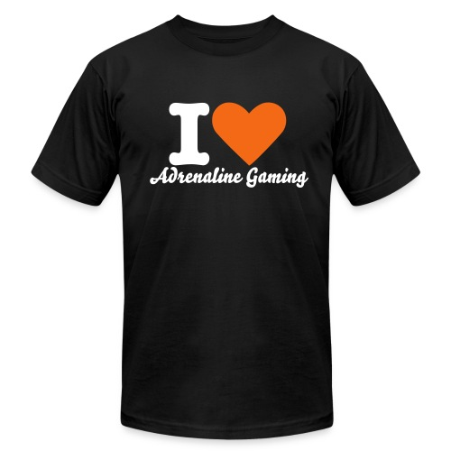 I love aRg - Men's Fine Jersey T-Shirt