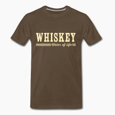 Whiskey. Water of Life T-Shirts