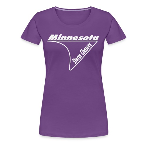 Womens Chasing shirt (Outline) - Women's Premium T-Shirt