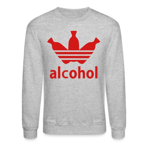 Alcohol Crew Neck G/R - Crewneck Sweatshirt