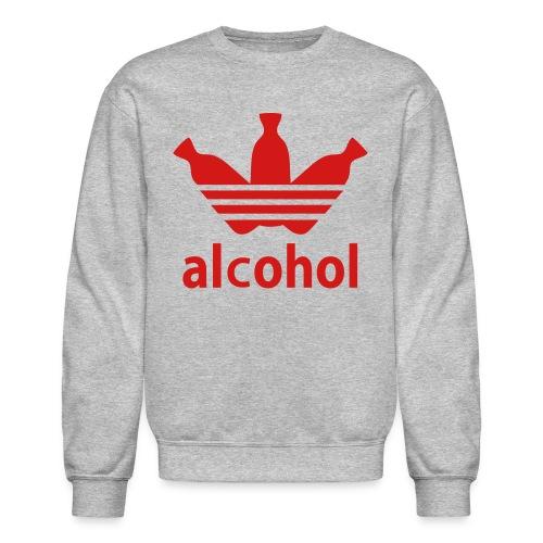 Alcohol Crew Neck G/R - Crewneck Sweatshirt