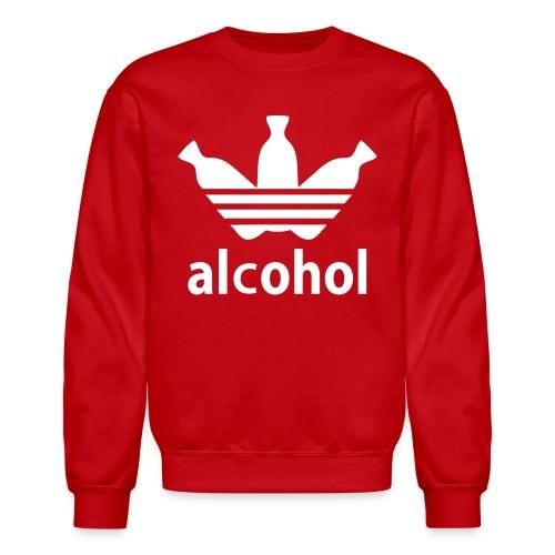 Alcohol Crew Neck R/W - Crewneck Sweatshirt