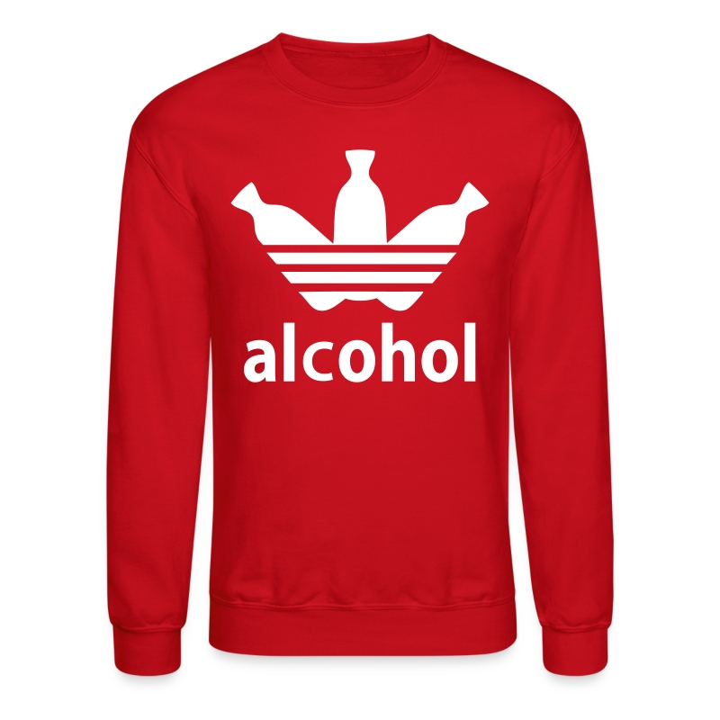 Alcohol Crew Neck R/W - Crewneck Sweatshirt
