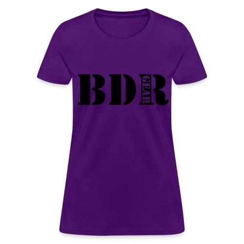Womens BDR Gear Tee - Women's T-Shirt