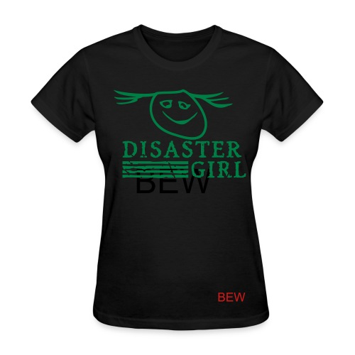 Disaster Girl tshirt - Women's T-Shirt