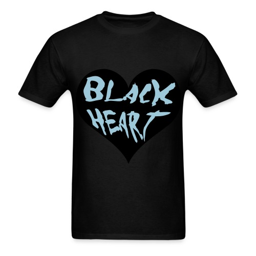 Black Heart  - Men's T-Shirt