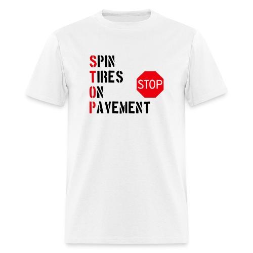Stop - Men's T-Shirt