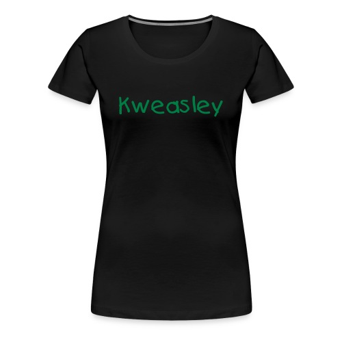 Kweasley Shirt - Green - WOMENS - Women's Premium T-Shirt