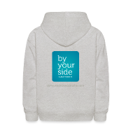 Sweatshirts ~ Kids' Hoodie ~ Kids Sweatshirt - By Your Side logo