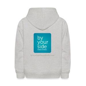 Kids Sweatshirt - By Your Side logo - Kids' Hoodie