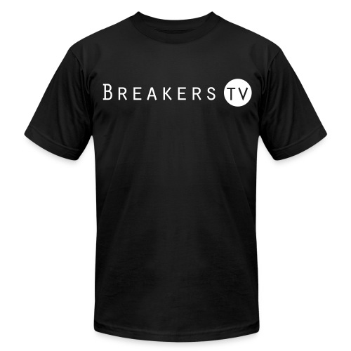 Breakers.TV Shirt - Men's T-Shirt by American Apparel