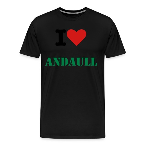 I Love andaull - Men's Premium T-Shirt