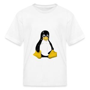 LINUX TUX CONTRA SIT  - Kids' T-Shirt