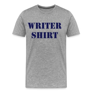 Writer Shirt -- Men's - Men's Premium T-Shirt