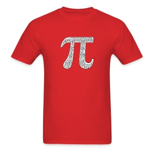Pi by Numbers - Men's T-Shirt