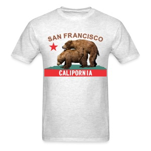 san francisco licorice&flame - Men's T-Shirt