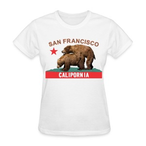 san francisco licorice&flame f - Women's T-Shirt