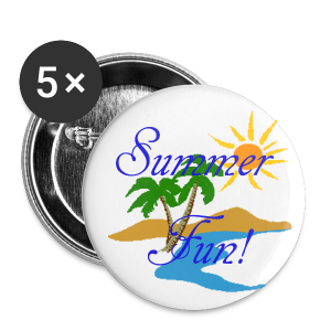 Summer Fun - Large Buttons