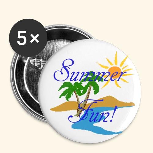 Summer Fun - Large Buttons