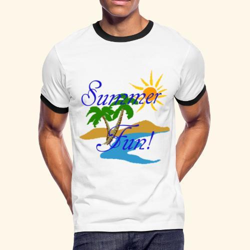 Summer Fun - Men's Ringer T-Shirt