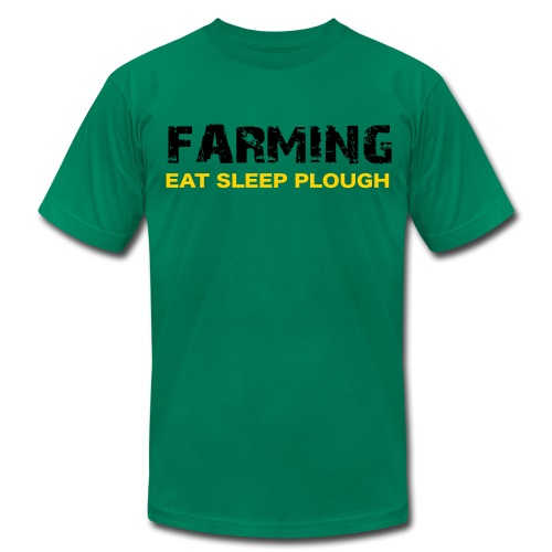 Farming Eat Sleep Plough - Uk Verson - Men's  Jersey T-Shirt