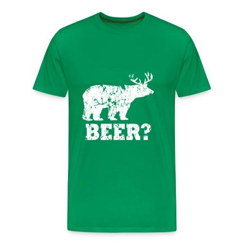BEER? - Men's Premium T-Shirt