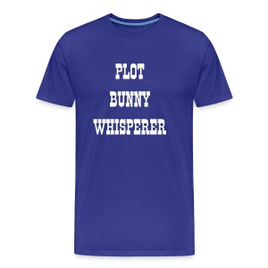 Plot Bunny Whisperer - Men's Tee - Men's Premium T-Shirt