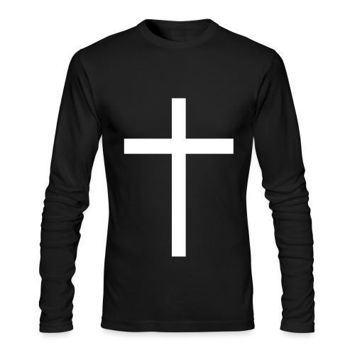 Long-Sleeve Cross Tee - Men's Long Sleeve T-Shirt by Next Level