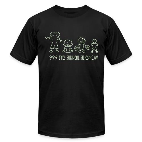 999 EYES Glow 'n Dark - Men's Fine Jersey T-Shirt