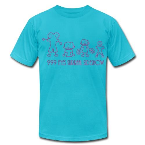 999 flock - Men's Fine Jersey T-Shirt
