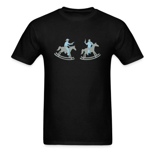 Playing Cowboys. - Men's T-Shirt